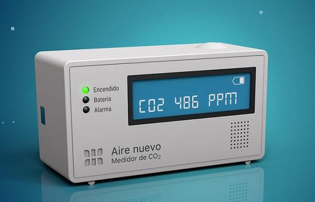 Un producto argentino para medir el aire